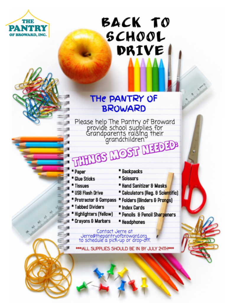 2020 Back to School Drive
